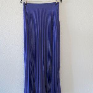 Purple asos pleaded skirt